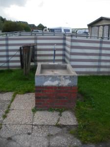 Wasserbrunnen am Campingplatz Neuharlingersiel