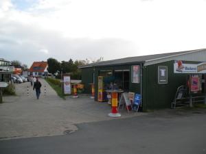 Kiosk am Campingplatz Neuharlingersiel