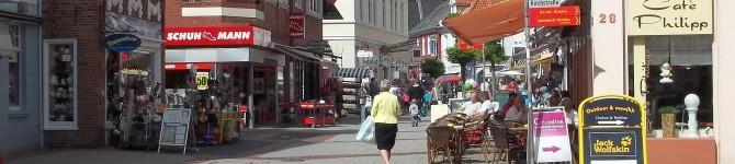 Die Innenstadt von Aurich