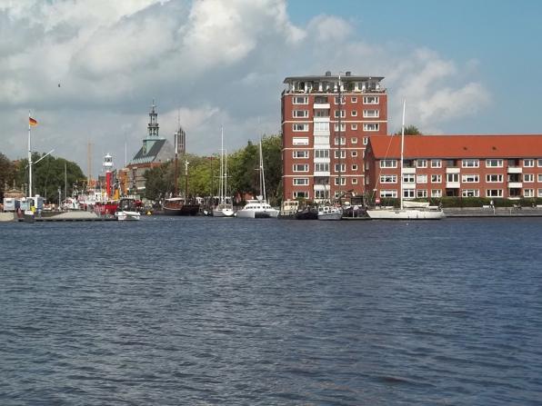 Der Ratsdelft in der ostfriesischen Stadt Emden ist ein Teil des Emder Hafens