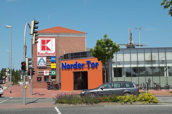 einkaufszentrum Norden