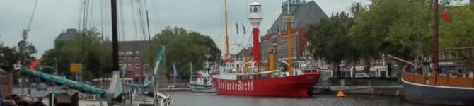 Stadt Emden, die Fußgängerzonen