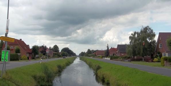 Der Fehnkanal in Wiesmoor