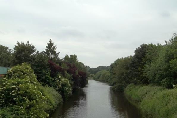Hinter Tief in Emden