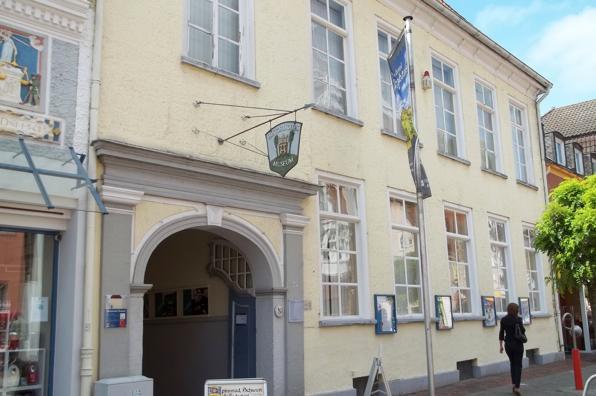 Gebäude des -Historischen Museums- und des -Mitmach Museums- in Aurich