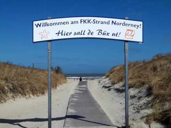 FKK Strand -Oase- auf Norderney