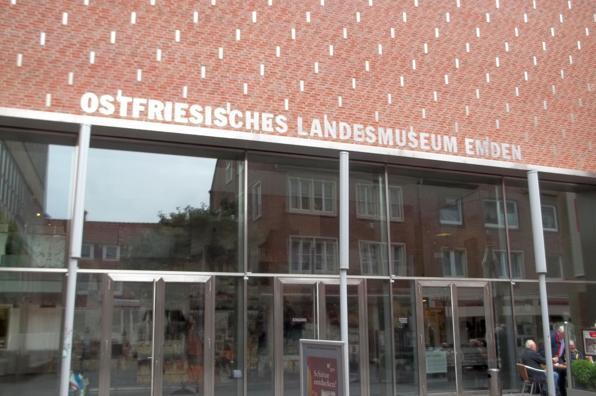 Eingangsbereich des -Ostfriesischen Landesmuseum-