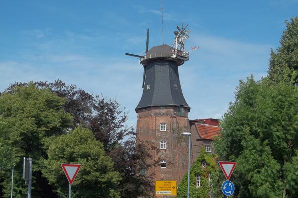 Hage: Die höchste Mühle Ostfrieslands