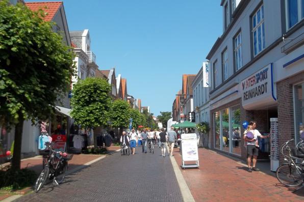 Die Fußgängerzone: Neuer Weg in Norden