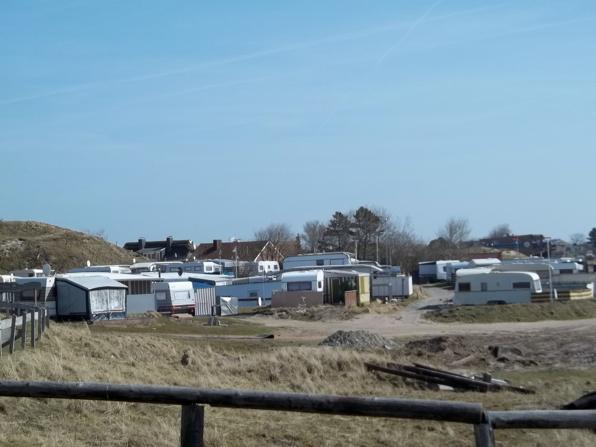 Einer der Norderneyer Campingplätze