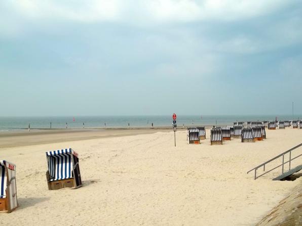 Urlaub am Strand der Insel Norderney