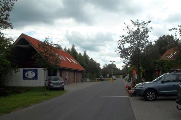 Eingangsbereich des Campingplatzes am Ottermeer