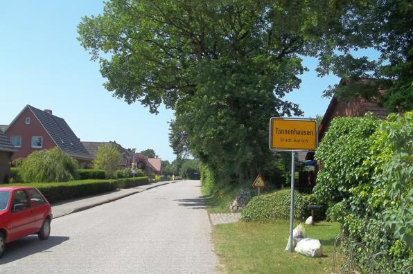 Ortseingang Tannenhausen