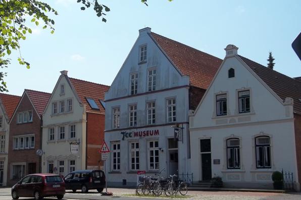 Teemuseum in der Stadt Norden
