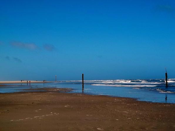 Schönes Wetter auf der Insel Norderney