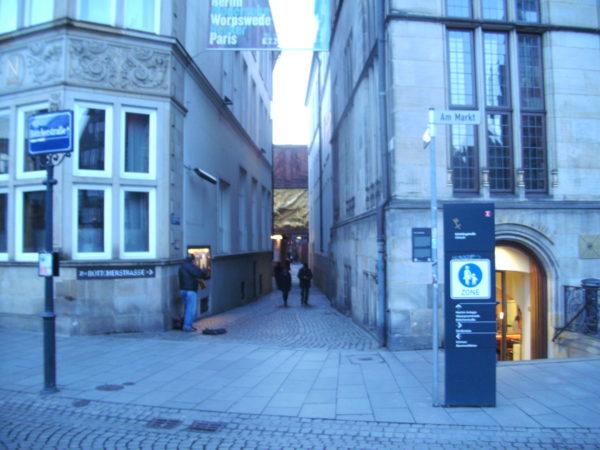 Eingang Böttcherstr