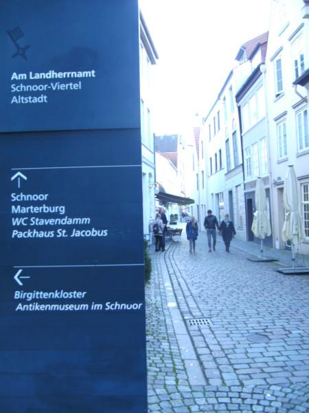 Schnoor Eingang