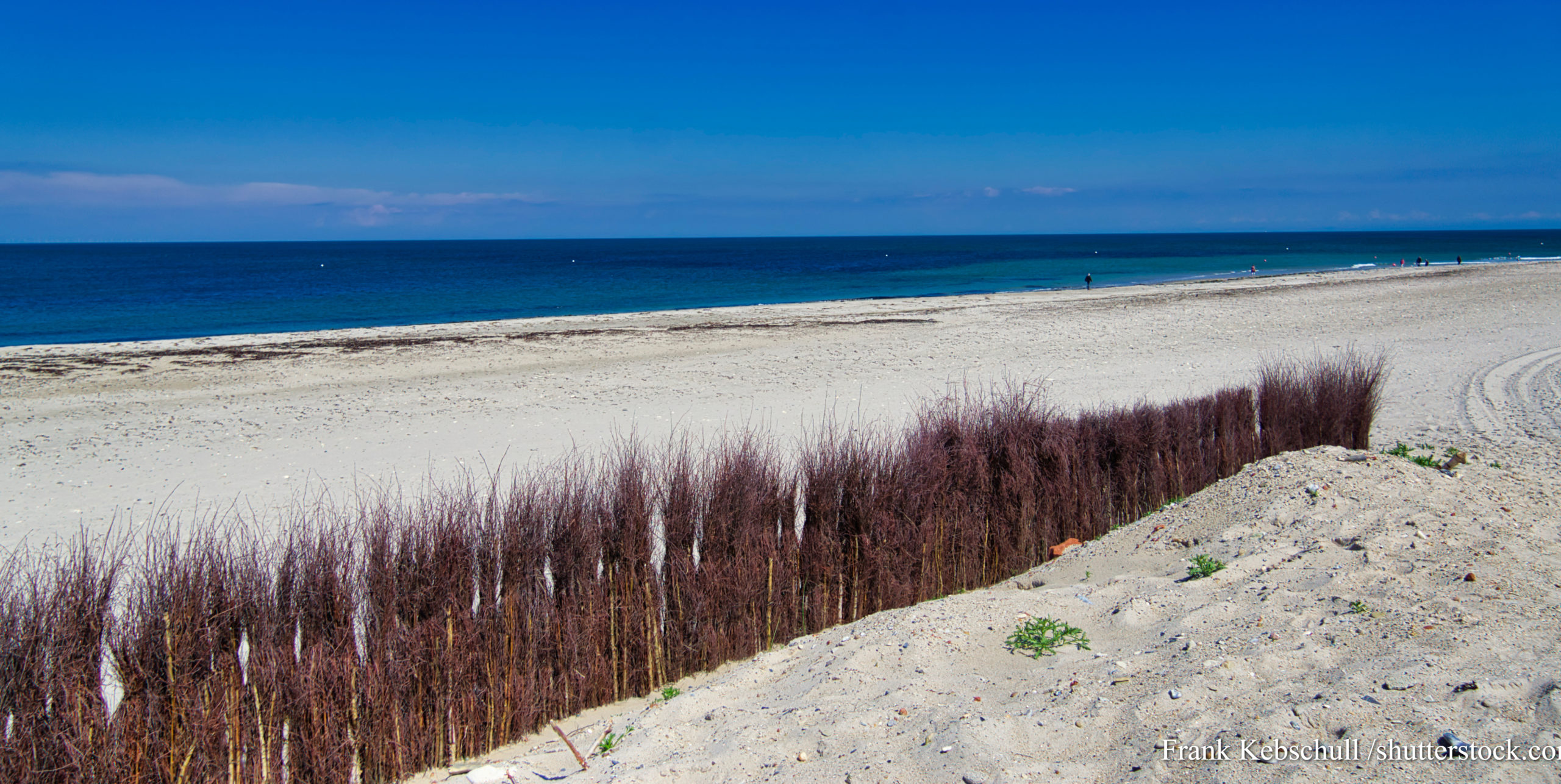 The North beach on island Dune - Heligoland - Germany